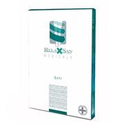 Компрессионные чулки RELAXSAN MEDICAL SOFT 2 класс компрессии МИКРОФИБРА открытый носок для женщин и мужчин