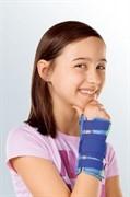Детская шина для лучезапястного сустава с моделируемой пластиной Medi Manumed