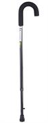 Трость с дугообразной ручкой и встроенным устройством против скольжения Nova B1080