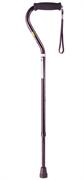 Тростьс мягкой ручкой, ремешком и функцией регулирования по высотеNova B1066