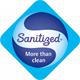 Компрессионные антиварикозные чулки AV_140 - Пропитка Sanitized ® Silver -  швейцарское противомикробное серебро