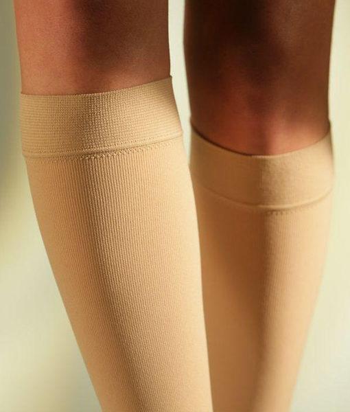 Компрессионные гольфы SIGVARIS MEDICAL COTTON XTRA 2 класс компрессии с закрытым носком для женщин и мужчин 14% ХЛОПКА