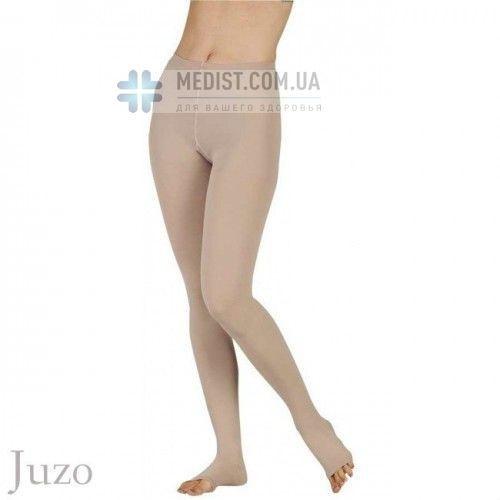 Компрессионные колготы Juzo Soft 1 и 2 класс компрессии с открытым и закрытым носком для женщин и мужчин