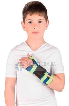 Детский бандаж на лучезапястный сустав с фиксацией большого пальца руки Тривес Т-8330