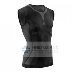 Ультралегкая футболка medi CEP без рукавов для занятий спортом