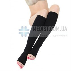 Компрессионные гольфы Schiebler Venesso Soft 1 и 2 класс компрессии с открытым и закрытым носком для женщин и мужчин