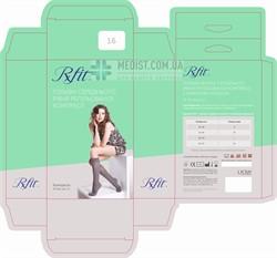 Компрессионные гольфы RxFit с умеренной компрессией (профилактические) закрытый носок для женщин и мужчин