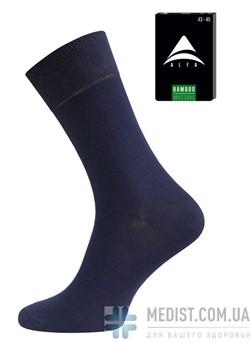 73% БАМБУК мужские антибактериальные носки средней длины Alfa Bamboo