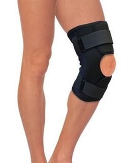 Бандаж разъемный на коленный сустав с полицентрическими шарнирами Тривес Т-8508