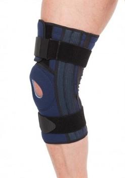 40% ХЛОПКА Бандаж компрессионный на коленный сустав (полуразъемный) Тривес Evolution Т-8592