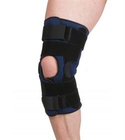 40% ХЛОПКА Бандаж компрессионный на коленный сустав (разъемный) Тривес Evolution Т-8593
