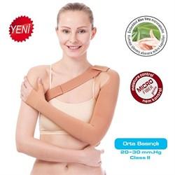 Компрессионный длинный рукав VARITEKS Aloe Vera 2 класс компрессии с фиксацией через туловище МИКРОФИБРА для женщин и мужчин