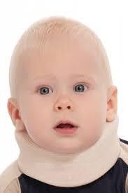 Бандаж  ТРИВЕС ТВ-000 для шейного отдела позвоночника для новорожденных ХЛОПОК в составе