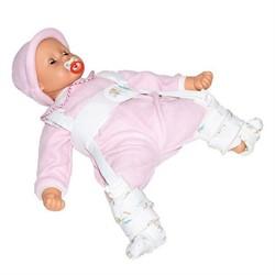 70% ХЛОПКА Детский фиксирующий бандаж на тазобедренный сустав (стремена Павлика) Тривес Т-8404