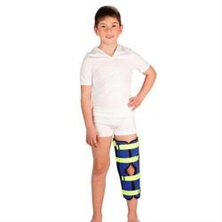 Детский бандаж для полной фиксации коленного сустава (тутор) Тривес Т-8535