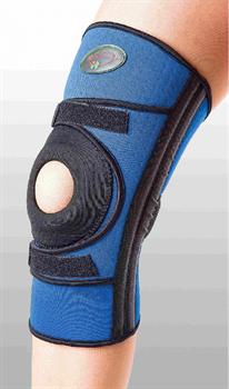 Бандаж для средней фиксации колена с четырьмя ребрами жесткости Реабилитимед К-1П