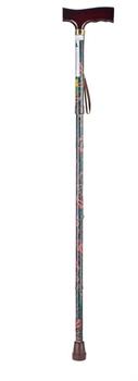 Трость складная с Т-подобной ручкой и ремешком Nova B3020AA