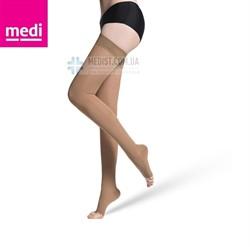 Компрессионные чулки MEDIVEN PLUS medi 1 и 2 класс компрессии с открытым и закрытым носком для женщин и мужчин