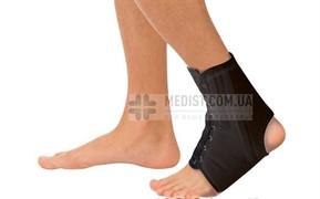 100% ХЛОПОК Бандаж на голеностопный сустав с анатомическими шинами Тривес Т-8608/1