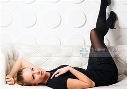 Женские компрессионные колготки Schiebler Venesso Soft 1 и 2 класс компрессии с открытым и закрытым носком