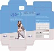 Компрессионные гольфы RxFit 1 класс компрессии с закрытым носком для женщин