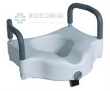 Сиденье высокое для туалета Dayang DY074007 с поручнями