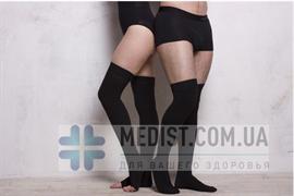 Мужские компрессионные чулкиIfeel второго класса компрессии с открытым и закрытым носком (мыском)
