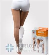 Медицинские компрессионные антиэмболические гольфы для женщин и мужчин Tonus Elast Hospital первого класса компрессии с открытым носком (мыском)