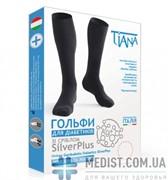 Медицинские диабетические гольфы Tiana SilverPlus с серебром (гольфы для диабетиков)