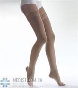 Чулки Lauma medical медицинские компрессионные 2 класс компрессии, открытый носок, кружевная резинка ДЛЯ ЖЕНЩИН