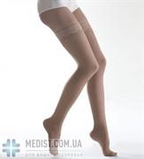 Чулки Lauma medical медицинские компрессионные профилактические, закрытый носок, кружевная резинка ДЛЯ ЖЕНЩИН