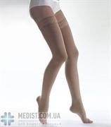 ХЛОПОК чулки Lauma medical медицинские компрессионные 2 класс компрессии, открытый носок, кружевная резинка ДЛЯ ЖЕНЩИН