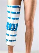 Тутор на коленный сустав с пятью ребрами жесткости Реабилитимед 3-Н
