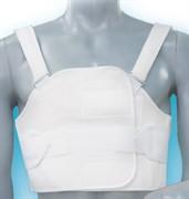 Бандаж послеоперационный разъемный на грудную клетку Реабилитимед БР - 3Т мужской