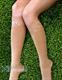 Компрессионные гольфы Soloventex 2 класс компрессии КРУЖЕВО с открытым носком для женщин