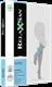 Компрессионные гольфы RELAXSAN BASIC 140 DEN PLUS 2 класс компрессии закрытый носок для женщин и мужчин