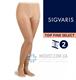 Компрессионные колготы SIGVARIS TOP FINE SELECT 2 класс компрессии с закрытым носком для женщин и мужчин