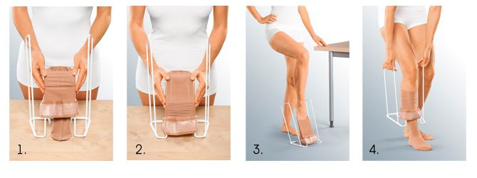 2 Приспособление для одевания компрессионных изделий компактный medi Travel Butler
