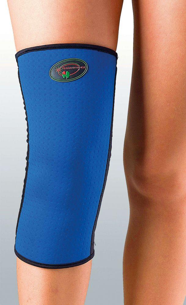 Бандаж эластичный для средней фиксации колена Реабилитимед К-1У