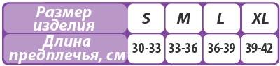 Бандаж поддерживающий на плечевой сустав (косынка) Тривес Т-8191 размерная таблица
