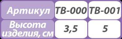 Бандаж для шейного отдела позвоночника Тривес ТВ-001 для детей грудничкового возраста ХЛОПОК в составе таблица размеров