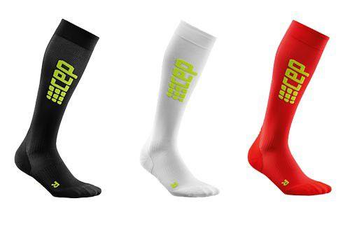 Компрессионные гольфы для бега Medi CEP 1 класс компрессии УЛЬТРАТОНКИЕ с закрытым носком для женщин и мужчин