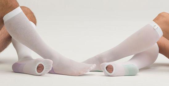 Антиэмболические (антитромбозные) гольфы MEDIVEN thrombexin 18 первый класс компрессии для родов и операций с закрытым носком для женщин и мужчин