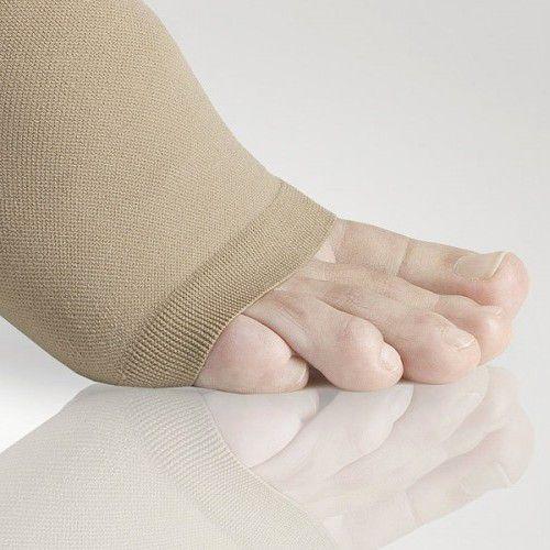 Компрессионные колготки для беременных женщин LASTOFA COTTON OFA BAMBERG 2 класс компрессии с открытым носком