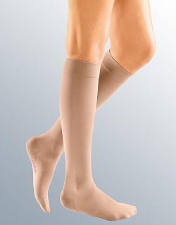 Компрессионные гольфы MEDIVEN COMFORT medi 1 и 2 класс компрессии с открытым и закрытым носком для женщин и мужчин