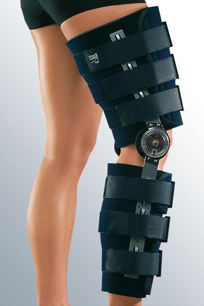 Универсальный регулируемый ортез для коленного сустава с возможностью ограничения амплитуды движения и иммобилизации Мedi ROM