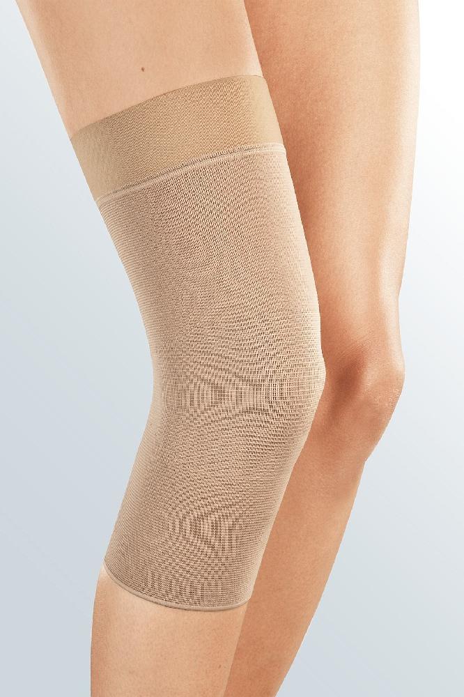 Бандаж компрессионныйдля коленного сустава Medi elastic knee supportc силиконовой резинкой