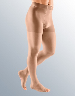 Компрессионные КОЛГОТЫ ДЛЯ МУЖЧИН (ТРИКО) MEDIVEN PLUS medi 1 и 2 класс компрессии с открытым и закрытым носком