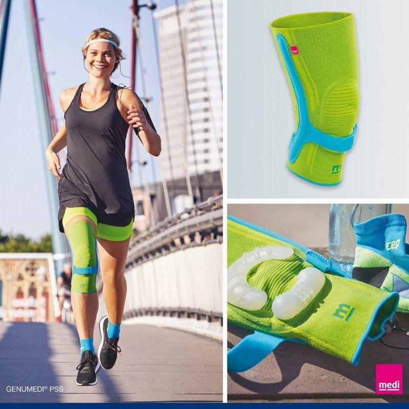 Бандаж для коленного сустава с пателлярным ремнем Medi Genumedi PSS