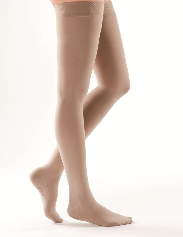РЕЗИНКА ДЛЯ ШИРОКИХ БЕДЕР компрессионные чулки MEDIVEN COMFORT medi 1 и 2 класс компрессии с открытым и закрытым носком для женщин и мужчин